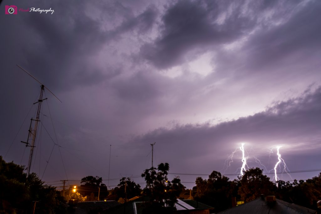 Astrophotography and Storm Chasing – Double Lightning in Dubbo