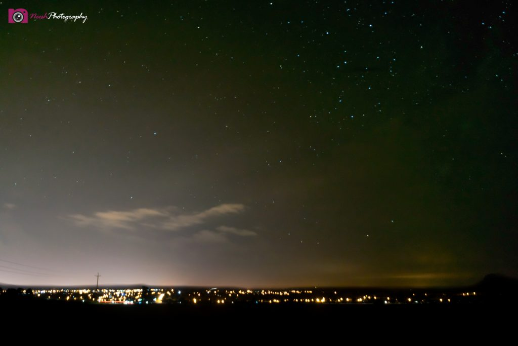 Astrophotography and Storm Chasing – Stars above Dubbo city lights