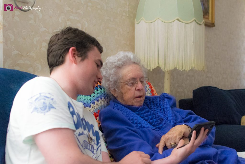 Road Trips - Great Grandson and his Nan