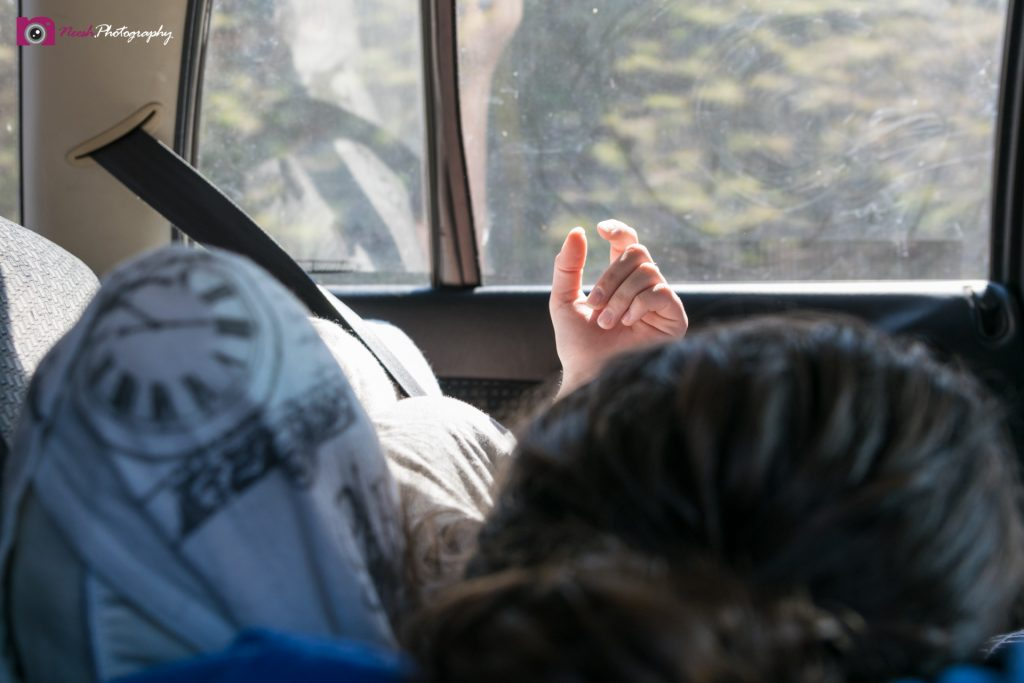 Road Trips - Resting while travelling in car