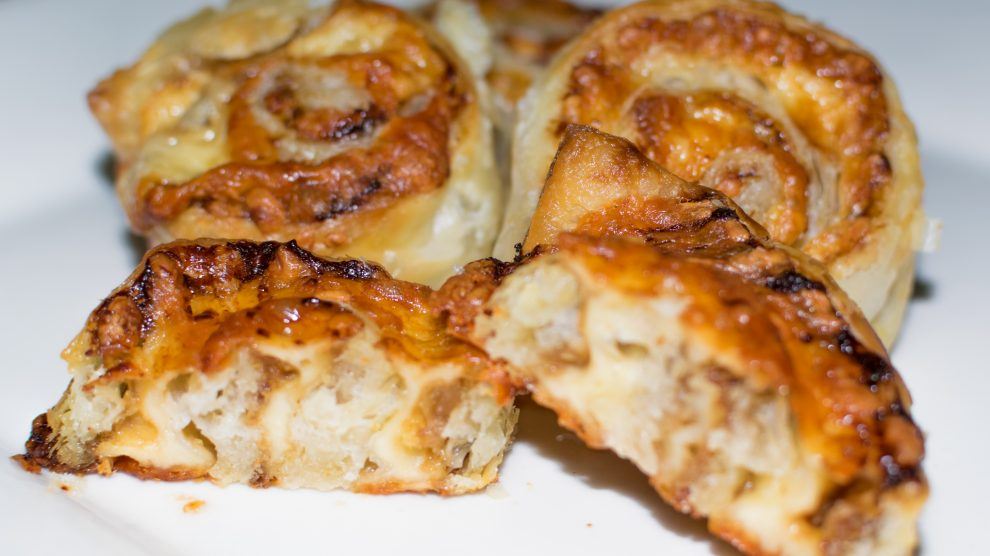 Recipe - Plate of Vegemite Scrolls