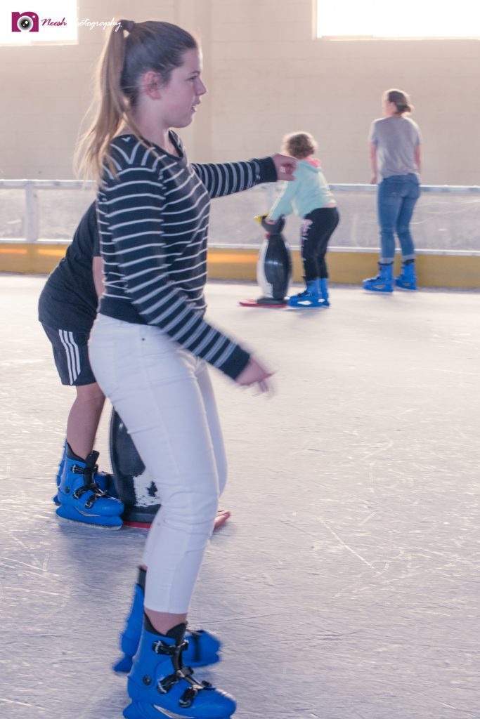 Ice Skating - Trying to stay upright