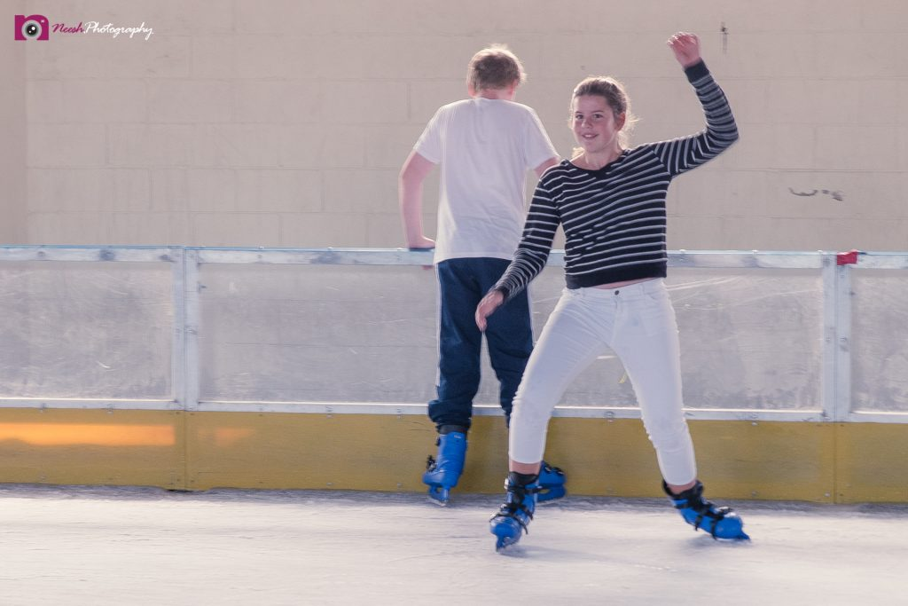 Ice Skating - Trying a spin... 😉