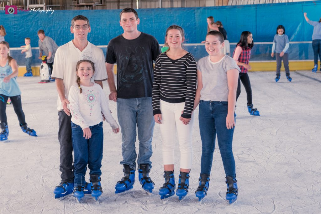 Ice Skating - Family