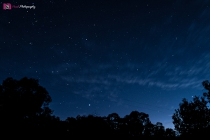 Astrophotography Challenge - Twilight Clouds & Stars