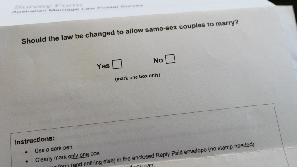 Yes or No on Same-sex Marriage and Everything Inbetween